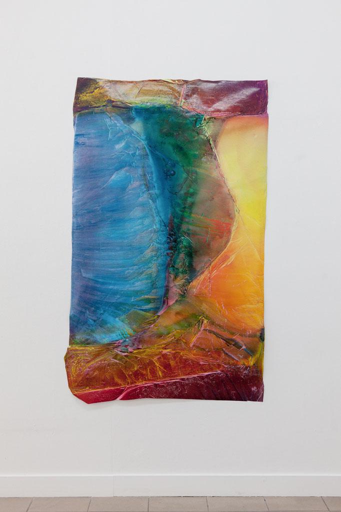 Enrico Niemann · Cross Section VIII, ca. 170 x 115 x 10 cm, 2017