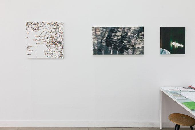 Jeder mit Jedem · Hans-Martin Ash | Henning Kappenberg · exhibition view