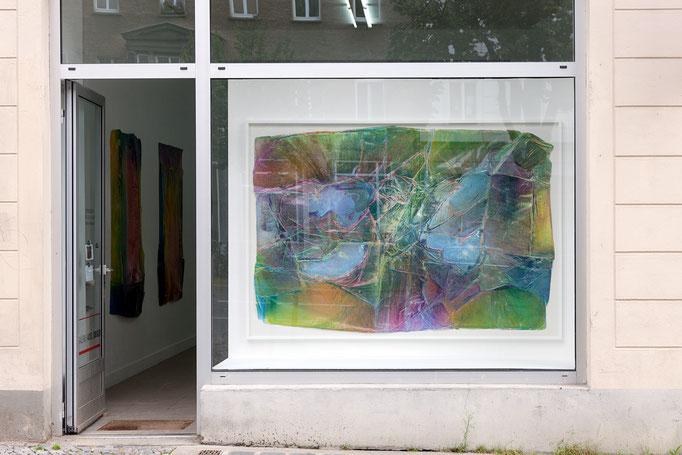 Enrico Niemann · Four Islands, ca. 145 x 213 x 5 cm, 2017