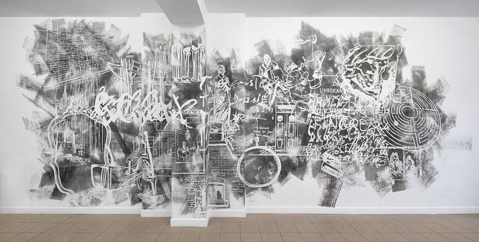 """Ausstellungsansicht """"Retrospective Conversion"""""""