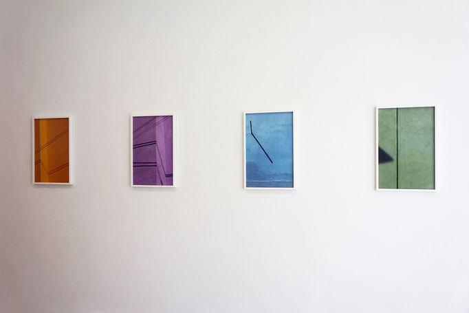 """Jessica Backhaus """"Note 05"""", """"Note 14"""", """"Note 08"""", """"Note 30"""" aus der Serie """"Symphony of shadows"""" 2010–2011"""