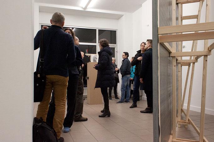 """Satellit #9 """"Umschweifen"""" · Ausstellungeröffnung"""