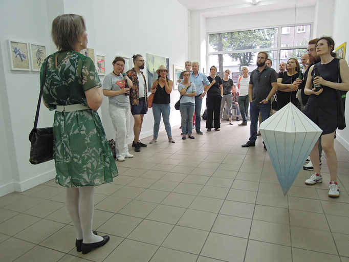 Eröffnungsansprache von Dorothée Bauerle-Willert