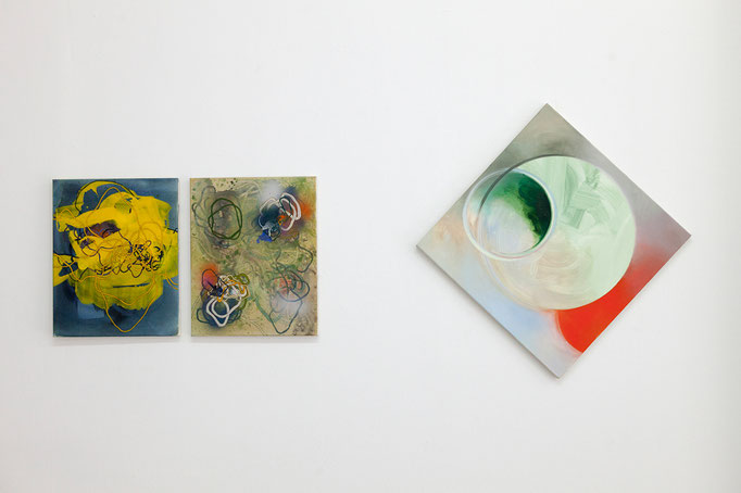 Andreas Hildebrandt ··Kultur, 2018 und Script, 2018 | Amelie Hüneke ··Parvulus, 2016