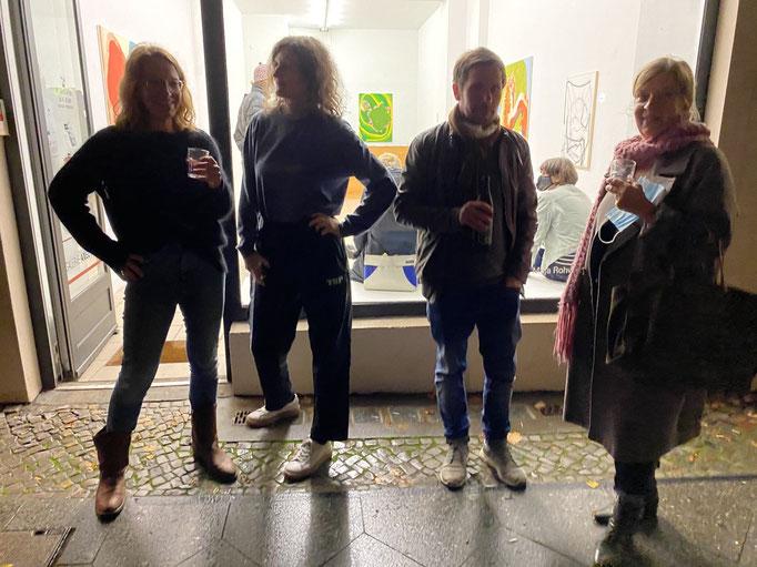 "Soft Opening ""Voir dire"" Maja Rohwetter und Sophia Schama I Axel Obiger, Berlin"