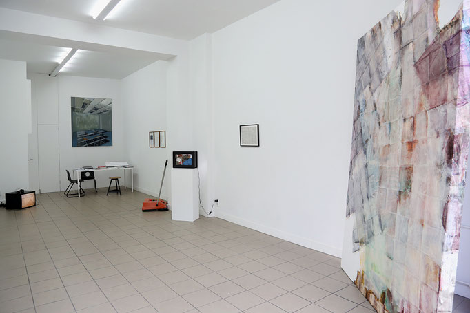 Exhibition view - Josina von der Linden, Roland Boden, Thilo Droste, Tim Stapel, Enrico Niemann