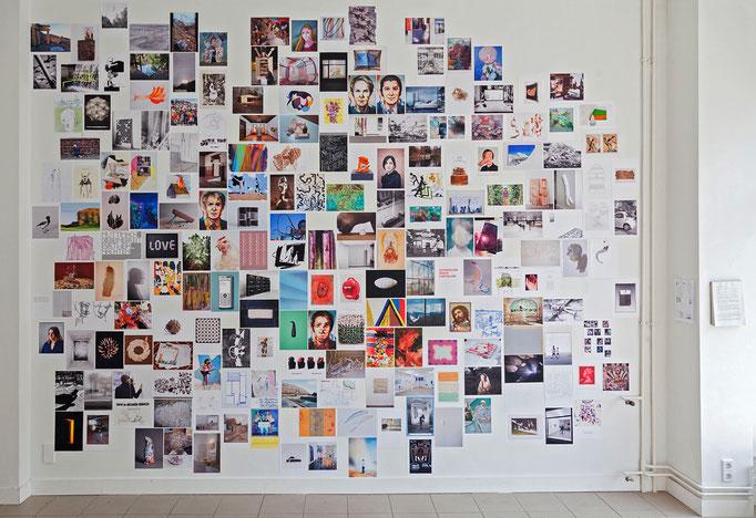 """""""100"""" Ausstellungsansicht, mit 205 Bildern"""