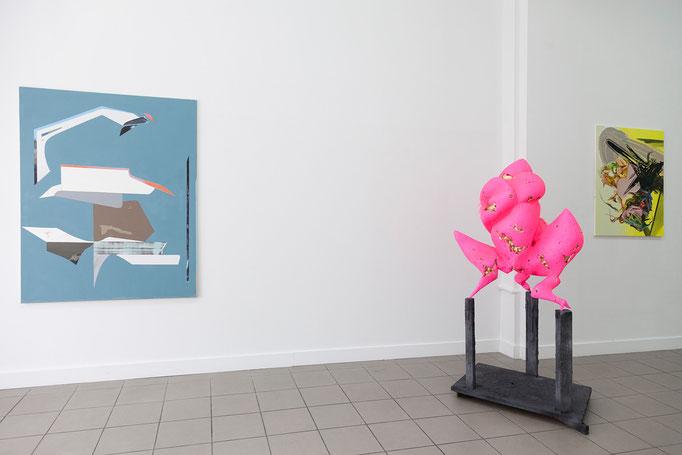 vlnr: Jessica Buhlmann · Apparition | Ulrike Buhl · Zwischenhoch | Maja Rohwetter · instant funpark