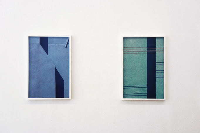 """Jessica Backhaus """"Note 23"""" und """"Note 20"""" aus der Serie """"Symphony of shadows"""" 2010–2011"""