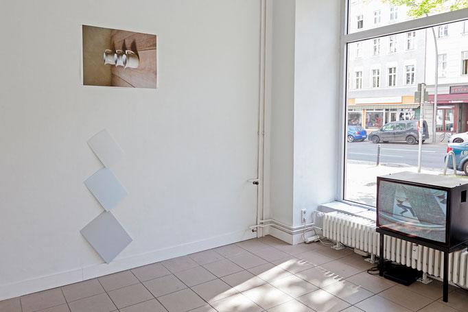 Peter Dobroschke · Farbstichbuffet, 2017 | Peter Dobroschke · Drehzahl meiner Beweggründe, 2017