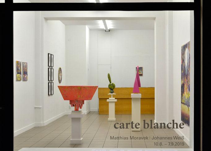"""""""carte blanche"""" · Ausstellungsansicht"""
