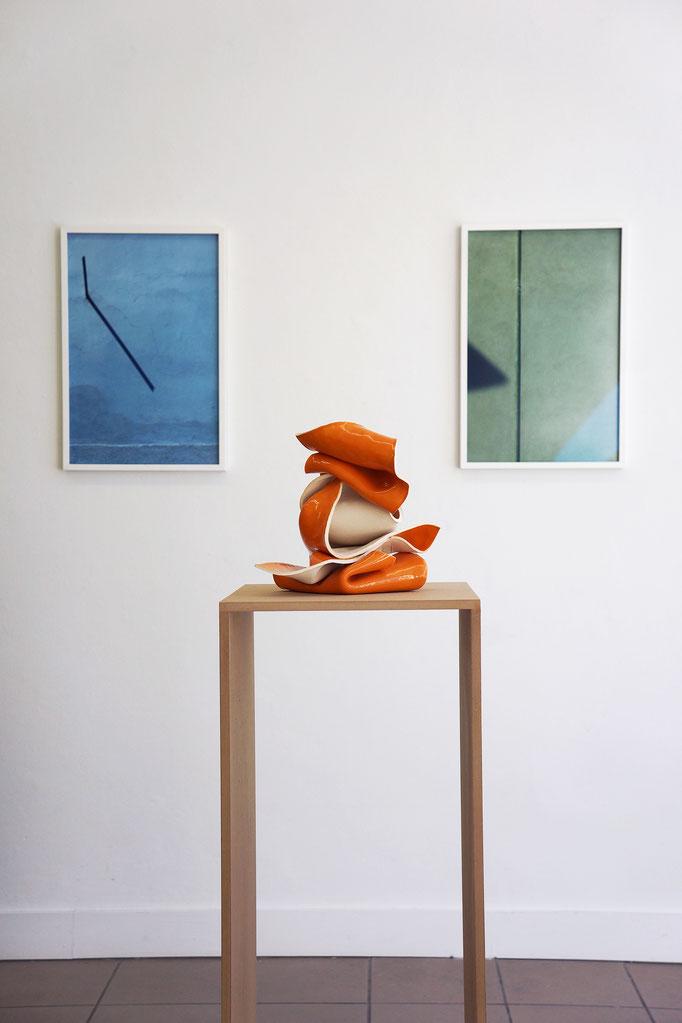 """Gabriele Künne """"Prospero"""" 2017 · Jessica Backhaus """"Note 08"""" und """"Note 30"""" 2010–2011"""