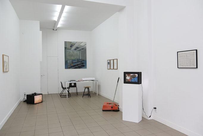 Exhibition view - Pauline Kraneis, Josina von der Linden, Roland Boden, Thilo Droste, Tim Stapel