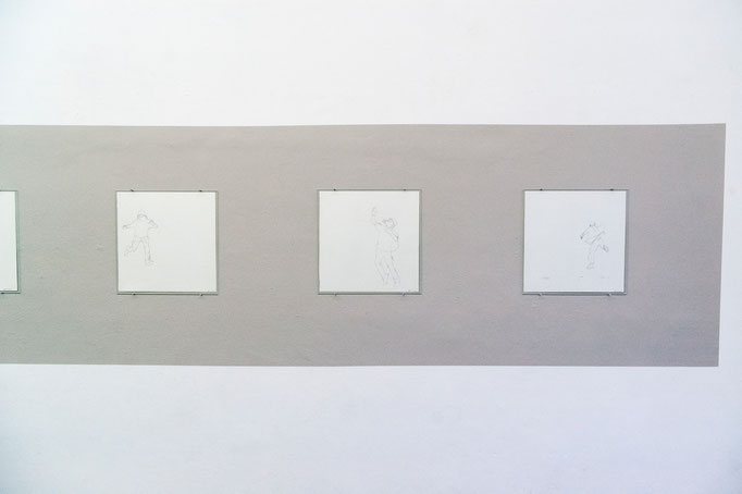 """Alke Brinkmann · """"The Dance for Freedom"""", Exhibition View"""