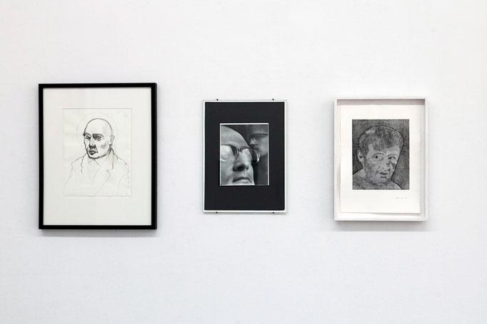 v.l.n.r. : Frank Diersch · A.O. | Edgar Zippel · Matthias H. | Thierry Perriard · Gurlitt