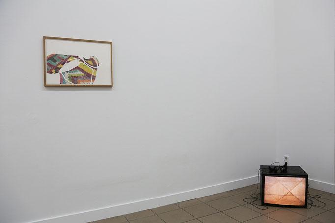 Exhibition view - Pauline Kraneis, Josina von der Linden