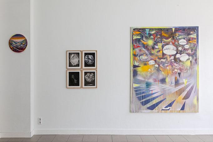 Wanda Stolle · o.T. Tusche auf Aquarellpapier, ca. 32 x 24 cm, 2017