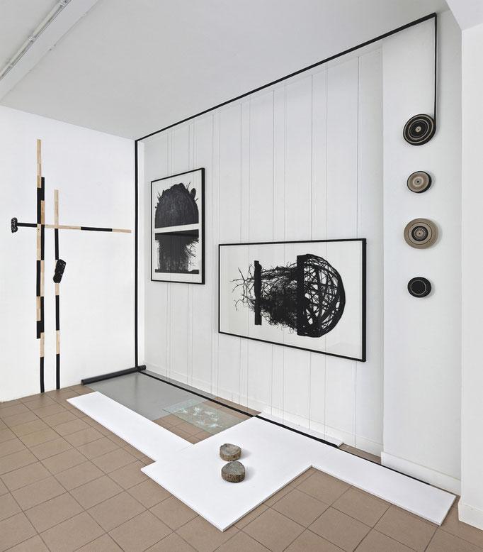 Corium Poetry, installationsansicht, 2011