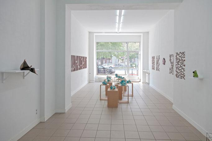 Unsauber, exhibition view