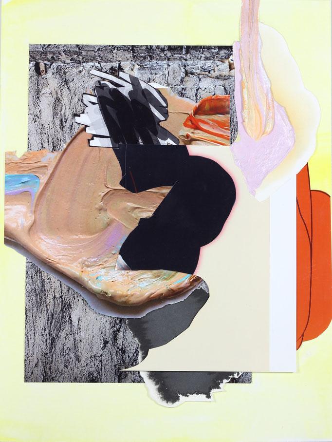"""""""gemischte gefühle #7"""" 2019, Collage, 30 x 40 cm I (c) Maja Rohwetter VG BildKunst"""