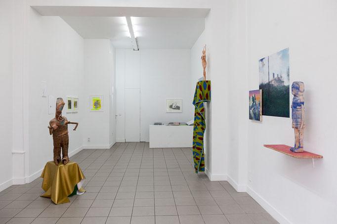 Pale Shelter, Ausstellungsansicht