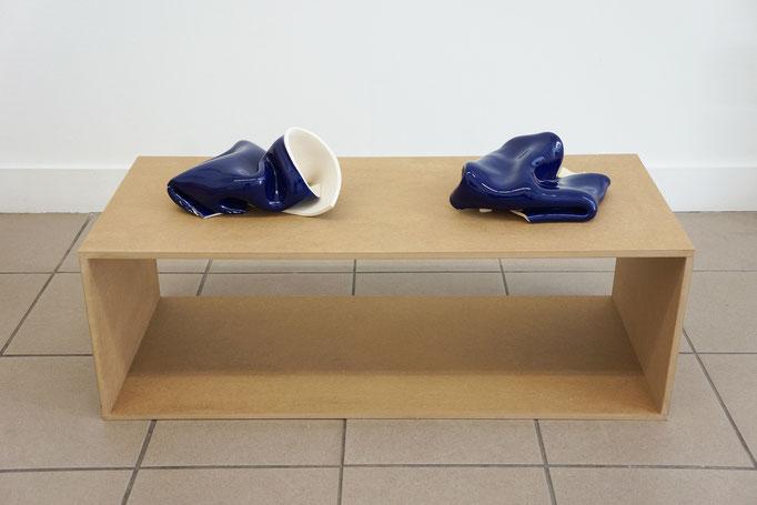 """Gabriele Künne """"Blaues Paar"""" 2017–19"""