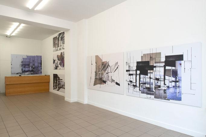 """""""KONSTRUKTION"""" · Ausstellungsansicht"""