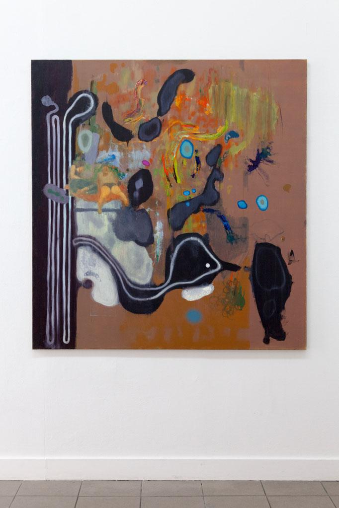 Jens Wohlrab · Bachelor 150 x 140 cm, Öl auf Leinwand, 2013