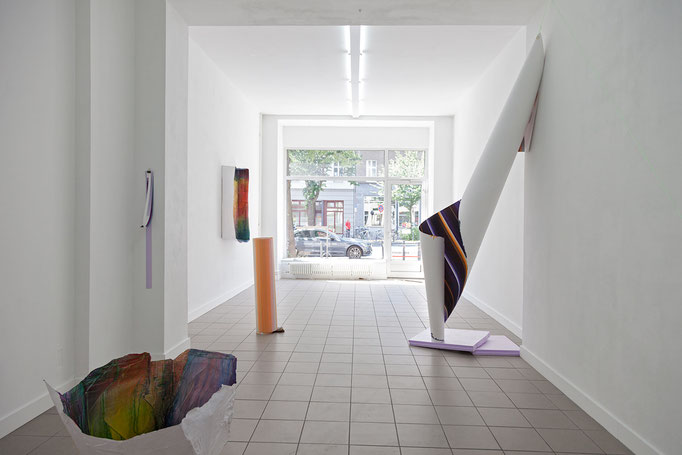 farbfluidum · Ausstellungsansicht