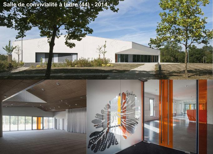 COMMUNE D'INDRE - L'ATELIER DE LA MAISON ROUGE ARCHITECTES
