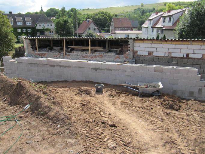 Extrem Fundament und Anbau - DEMFO Bau QJ11