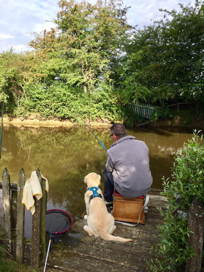 Naspa à la pêche
