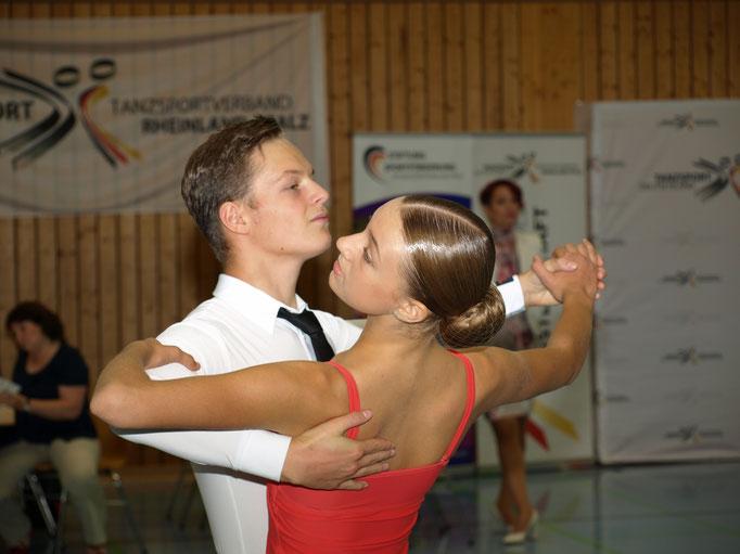 Robin Zang und Elea Schulz
