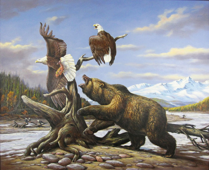 Erich Graf - Bear vs Eagles