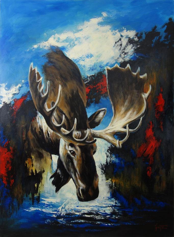 Erich Graf - Modern Elk