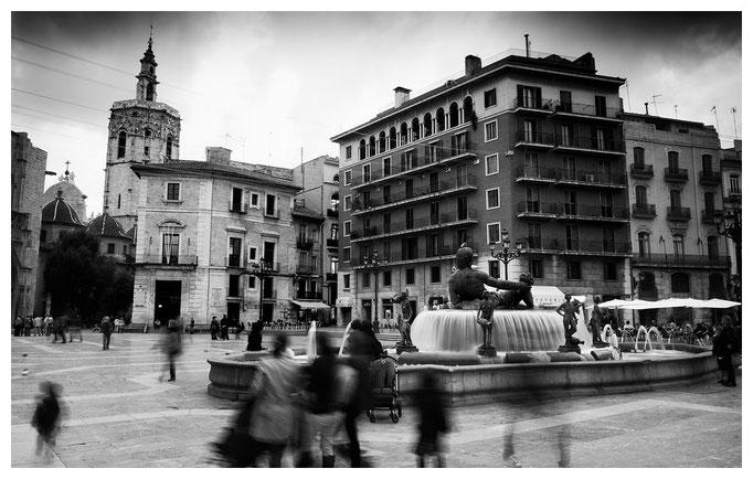 Plaza de la Virgen, Valencia 2011