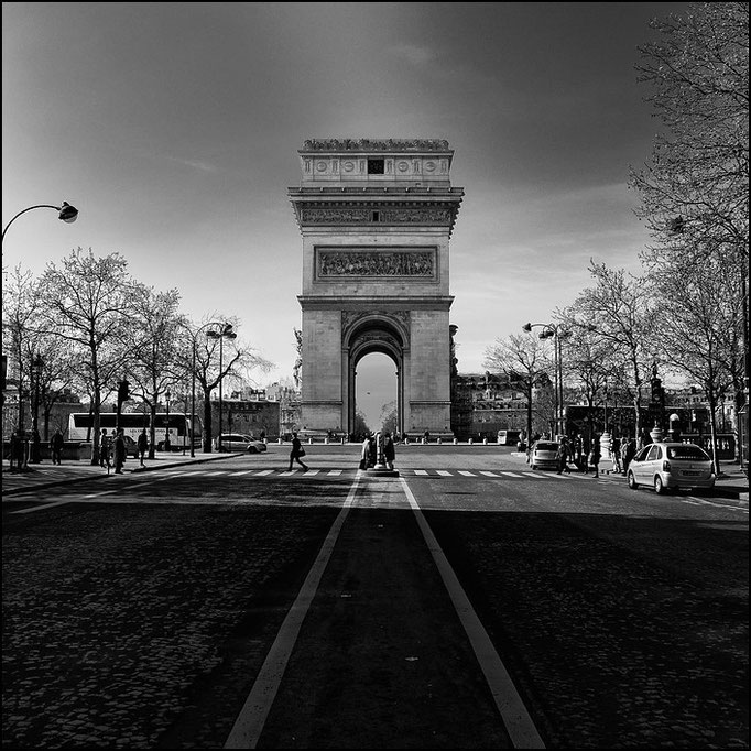 arc de triomphe, Paris 2010