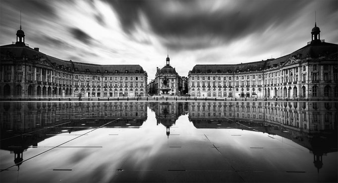 Place de la Bourse, Bordeaux. France 2013