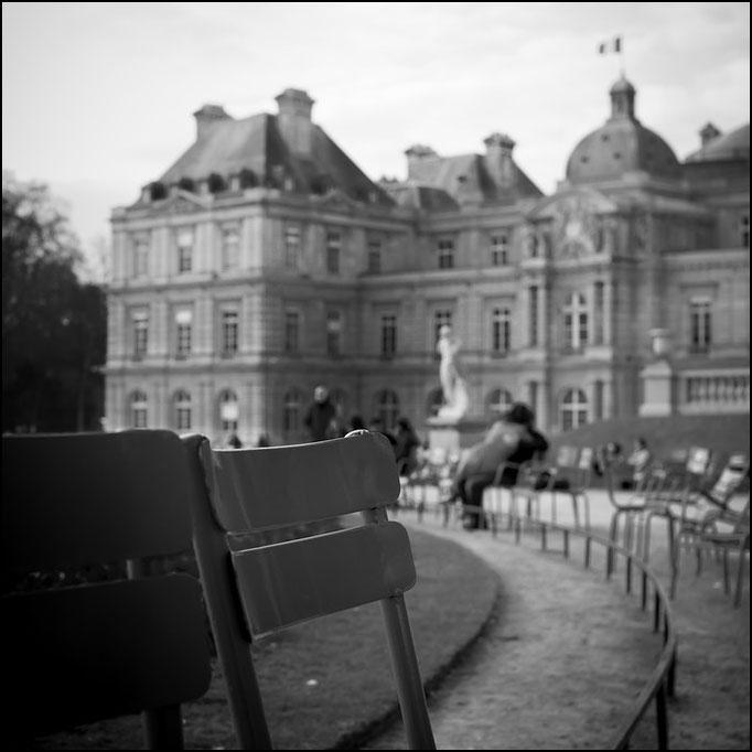 Paris et l'amor | jardin du luxembourg 2010