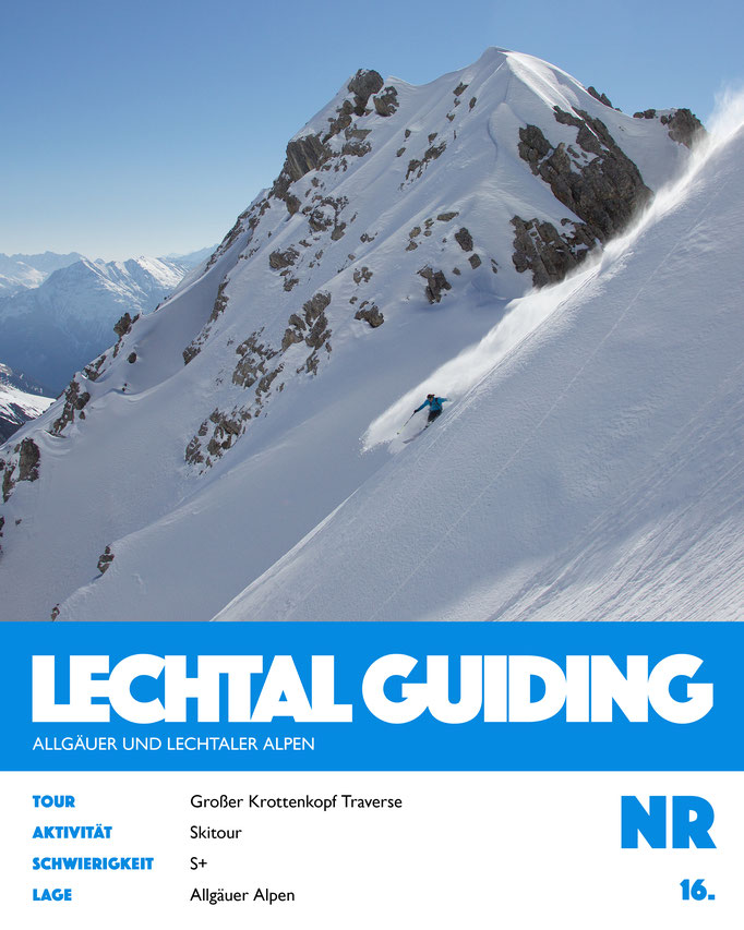Skitour - Großer Krottenkopf Traverse