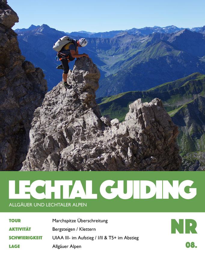 Bergsteigen - Marchspitze Überschreitung