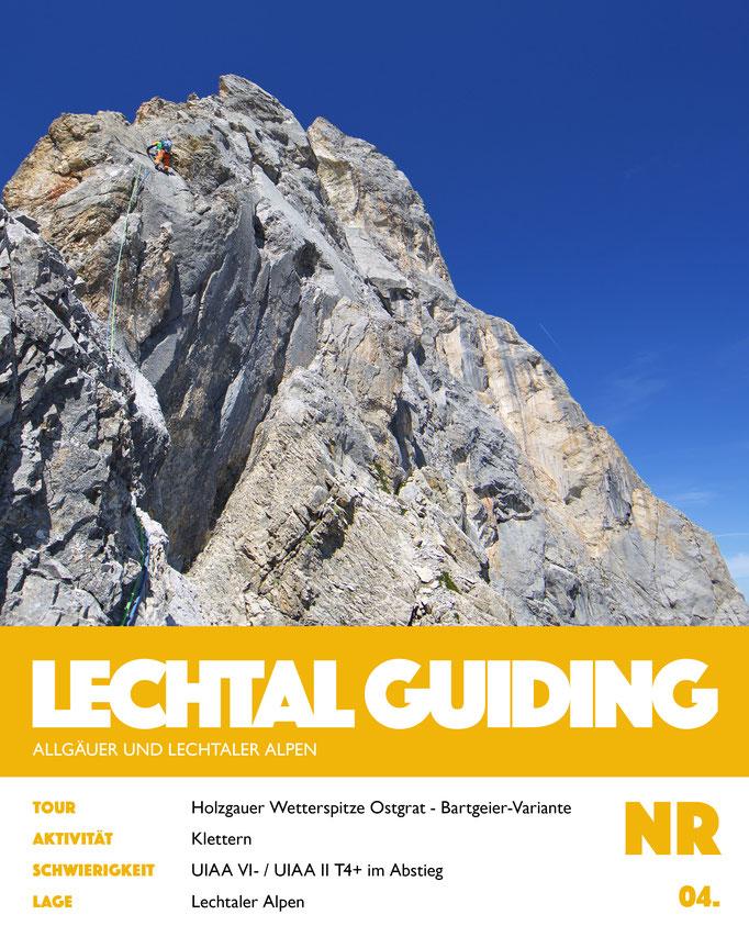 Klettern - Holzgauer Wetterspitze - Ostgrat