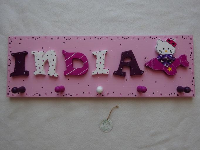 "NAME in RAVIE ""S"" - Hello Kitty im Flieger"