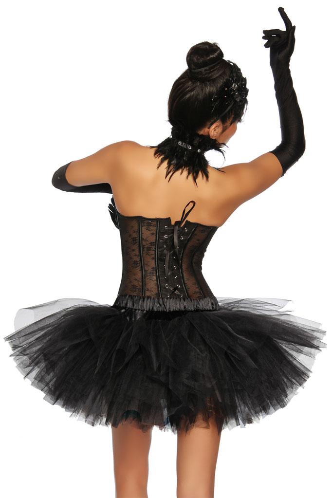Petticoat Swan/Schwarz