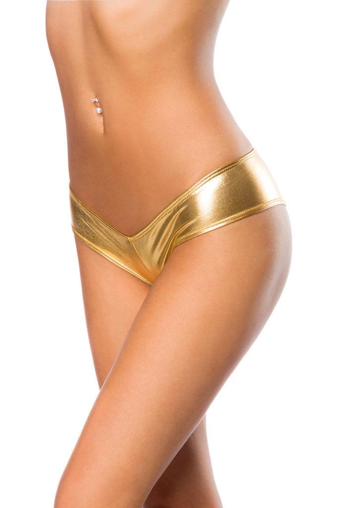 Metallic Panty gold