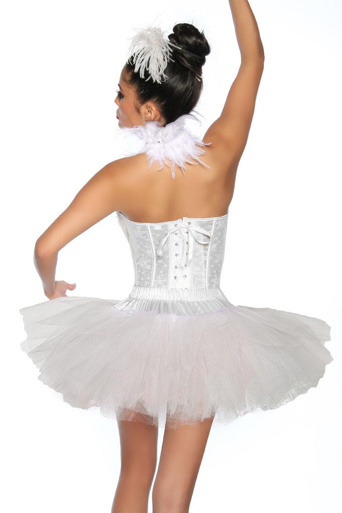 Petticoat Swan/w^Weiss