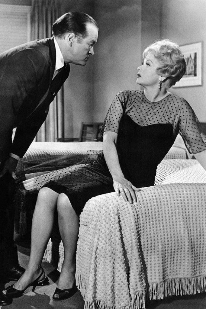"""""""Los hechos de la vida"""" Lucille Ball y Bob Hope"""