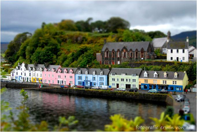 Portree auf Isle of Skye, Schottland