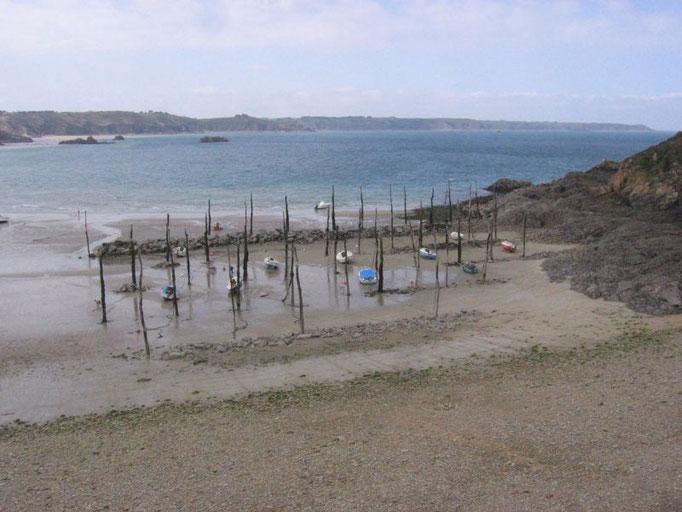 Gwin Zegal, port atypique du Ve siècle, entre Plouézec et Plouha