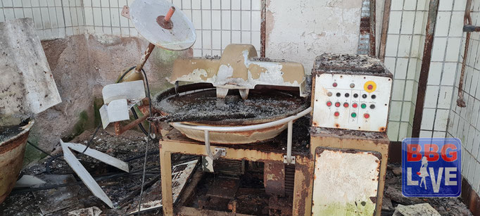 In der Wurstverarbeitung